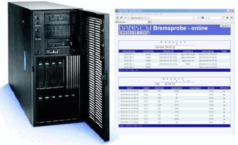 Server u Onlinedarstellung web