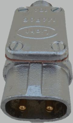 Stecker 2polig Stift-Kontakt