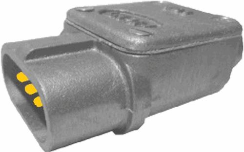 Stecker 3pol Stift web